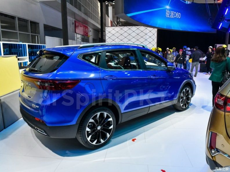 FAW D80 Debuts at 2018 Beijing Auto Show 28