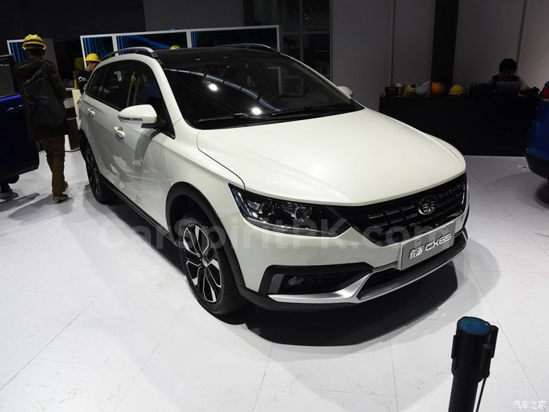 FAW Jumpal CX65 Unveiled at 2018 Beijing Auto Show 1
