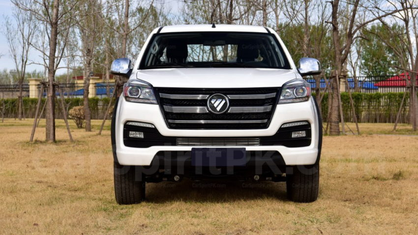 2018 Foton Tunland Facelift Launched in China 4