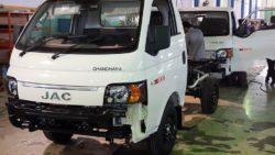 Ghandara Begins Assembling the JAC X200 Pickup Locally 6