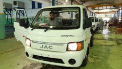 Ghandara Begins Assembling the JAC X200 Pickup Locally 7