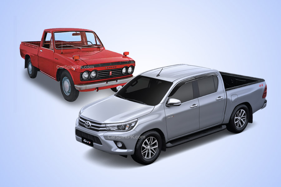 50 Years of Toyota Hilux 1
