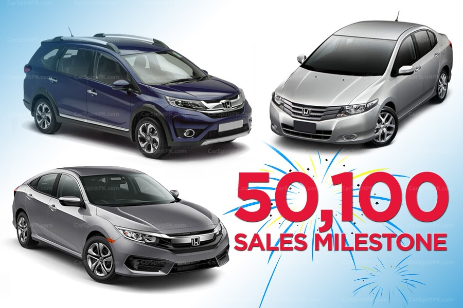 Honda Atlas Achieves Historical Sales Milestone of 50,100 Units in 1 year 1