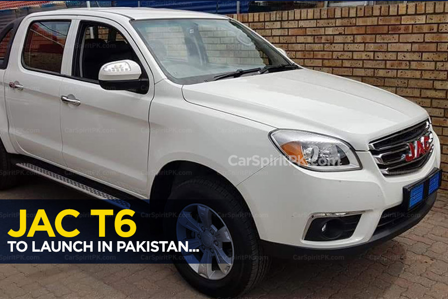 Ghandhara to Introduce JAC T6 Double Cabin Pickup in Pakistan 40