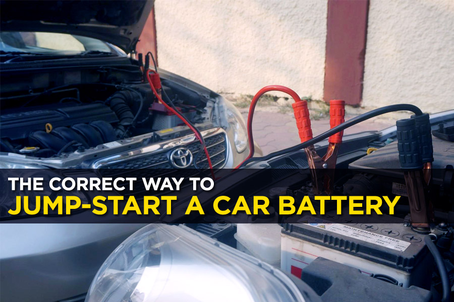 The Correct Way to Jump-Start a Car Battery 1