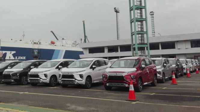 Mitsubishi Starts Exporting the Xpander from Indonesia 2
