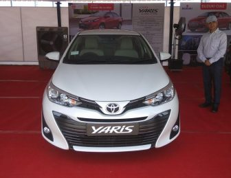 Toyota Yaris Pre-Booking Starts in India- Launch Expected in May 2018 2