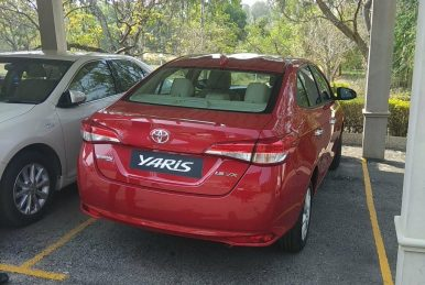 Toyota Yaris Pre-Booking Starts in India- Launch Expected in May 2018 3