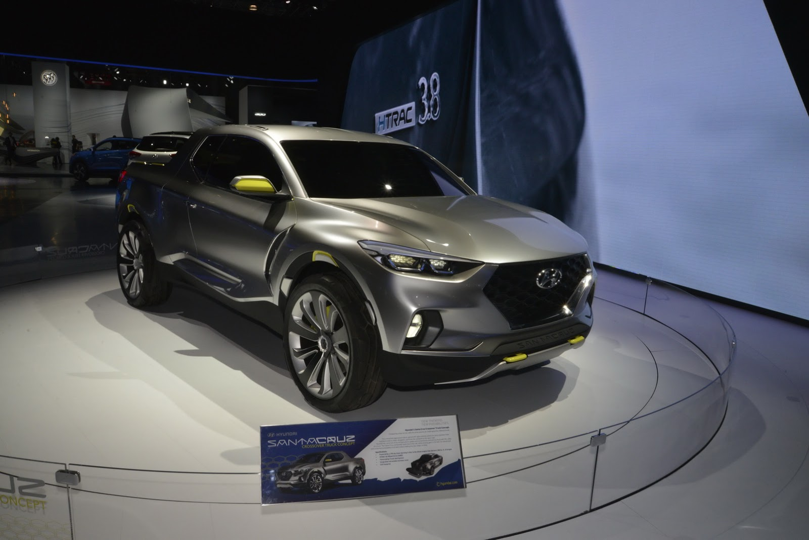 Hyundai Santa Cruz Pickup Truck to Launch in 2020 ...