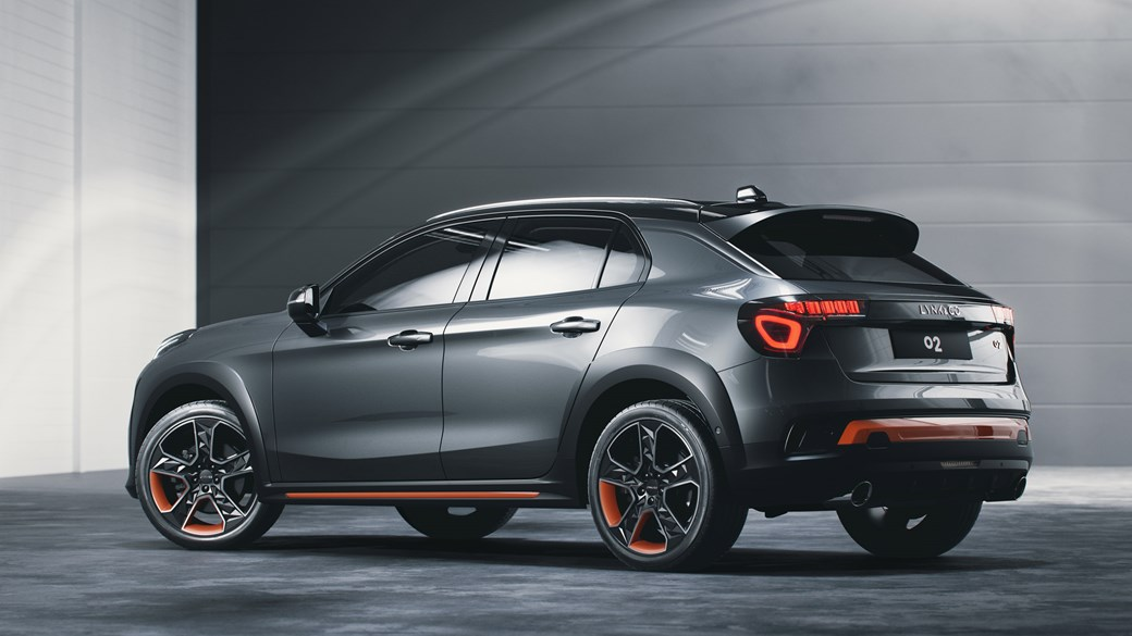 Geely's Lynk & Co Reveals 02 Crossover 1