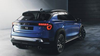 Geely's Lynk & Co Reveals 02 Crossover 9