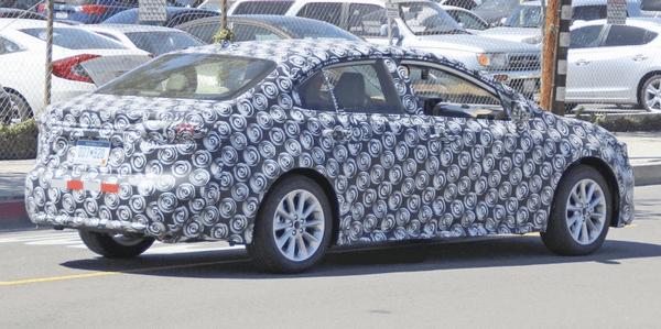 Spyshots: 12th gen Toyota Corolla Caught Testing 4