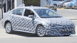 Spyshots: 12th gen Toyota Corolla Caught Testing 4