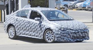 Spyshots: 12th gen Toyota Corolla Caught Testing 2