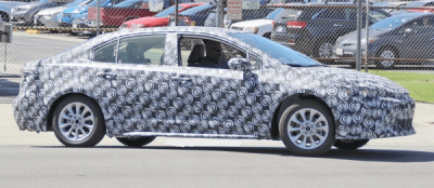 Spyshots: 12th gen Toyota Corolla Caught Testing 3