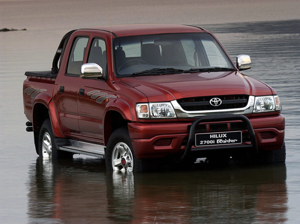 50 Years of Toyota Hilux 16