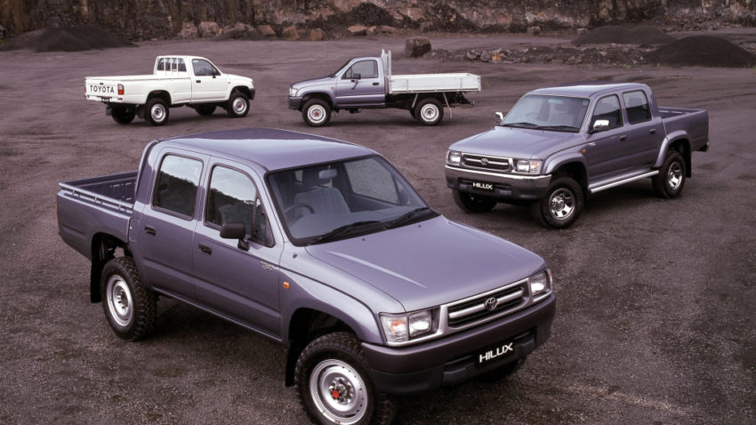 50 Years of Toyota Hilux 15
