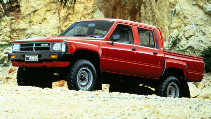 50 Years of Toyota Hilux 7
