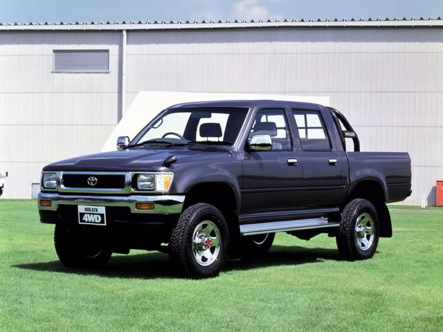50 Years of Toyota Hilux 12