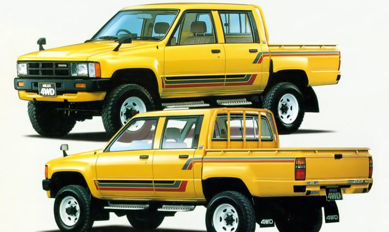 50 Years of Toyota Hilux 20