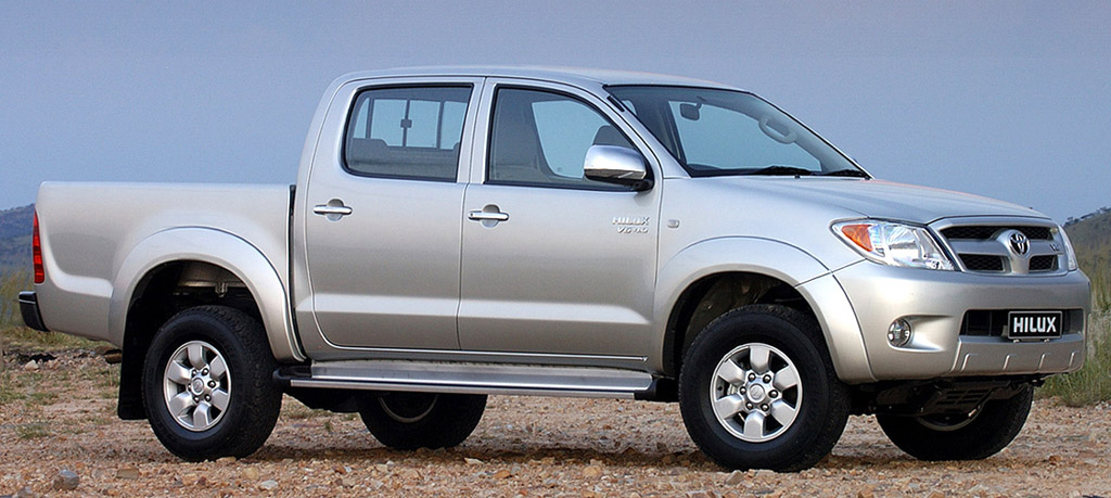 50 Years of Toyota Hilux 35