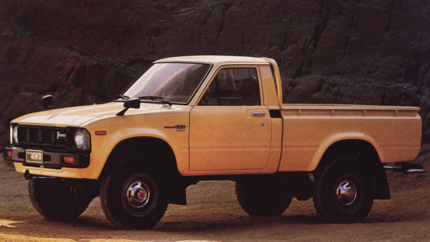 50 Years of Toyota Hilux 6