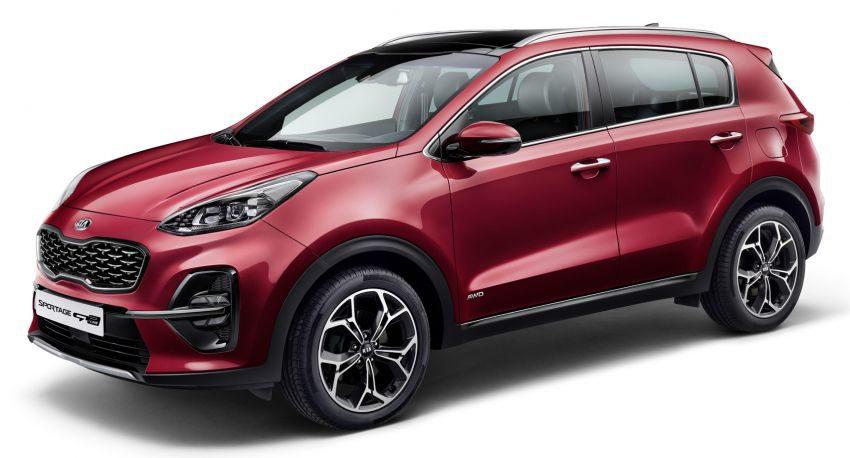 2018 Kia Sportage Facelift Revealed 4