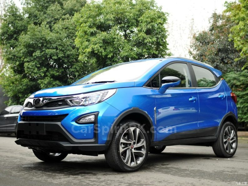 BYD Yuan Subcompact Crossover 7