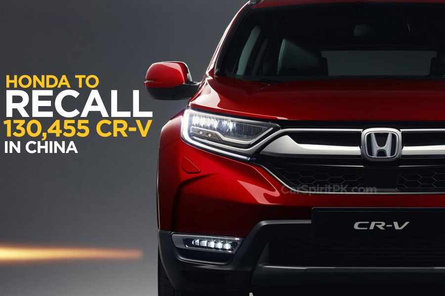 Honda to Recall over 130,455 CR-V in China 22