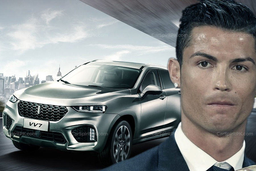 WEY Signs Cristiano Ronaldo as Brand Ambassador 1
