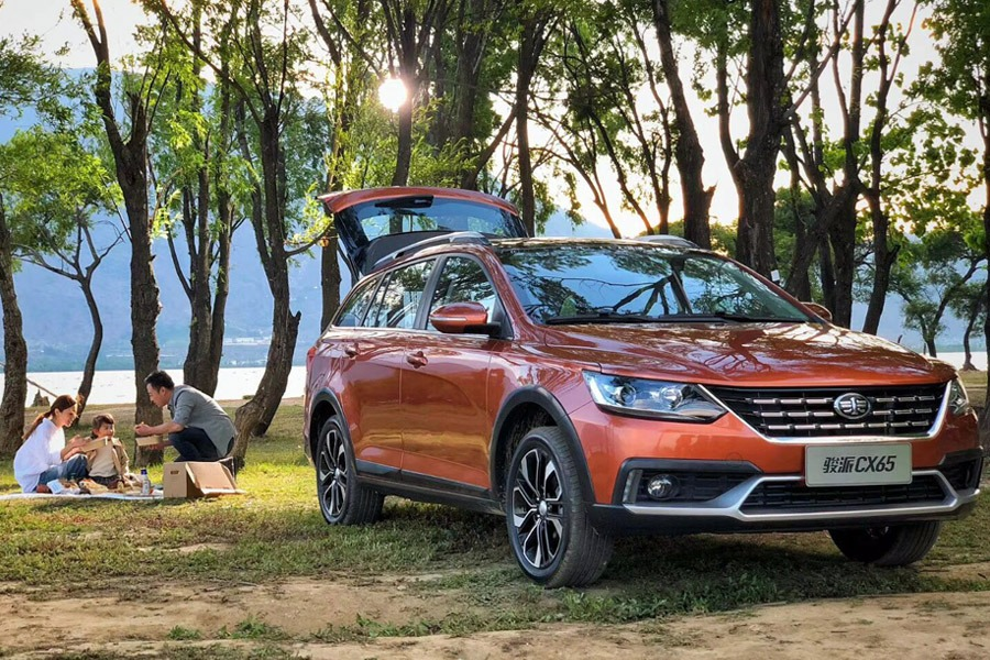 FAW all set to Launch the Jumpal CX65 Wagon in China 5