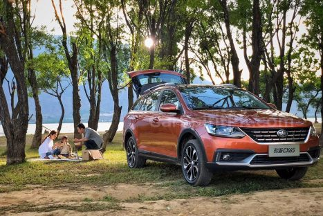 FAW all set to Launch the Jumpal CX65 Wagon in China 6
