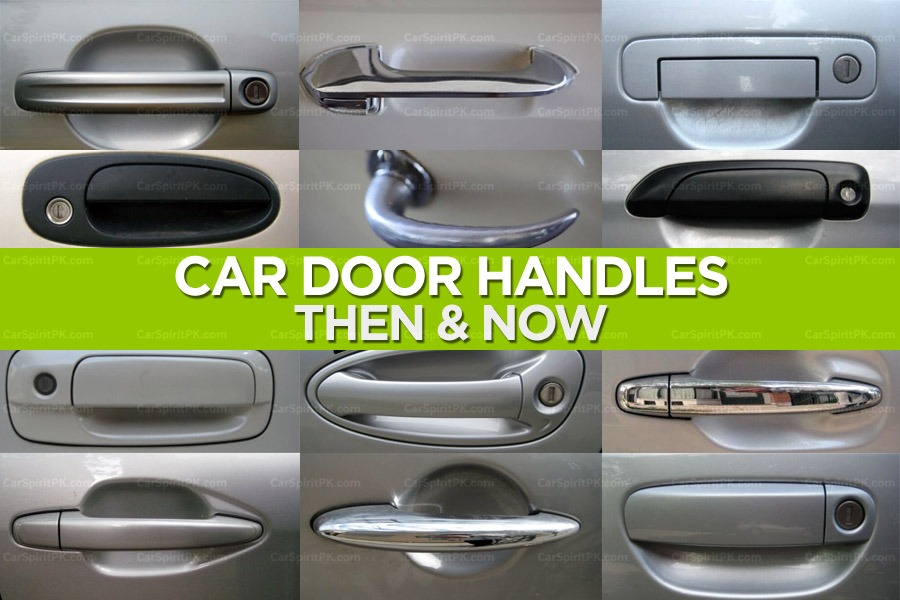 Car Door Handles- Then and Now 3