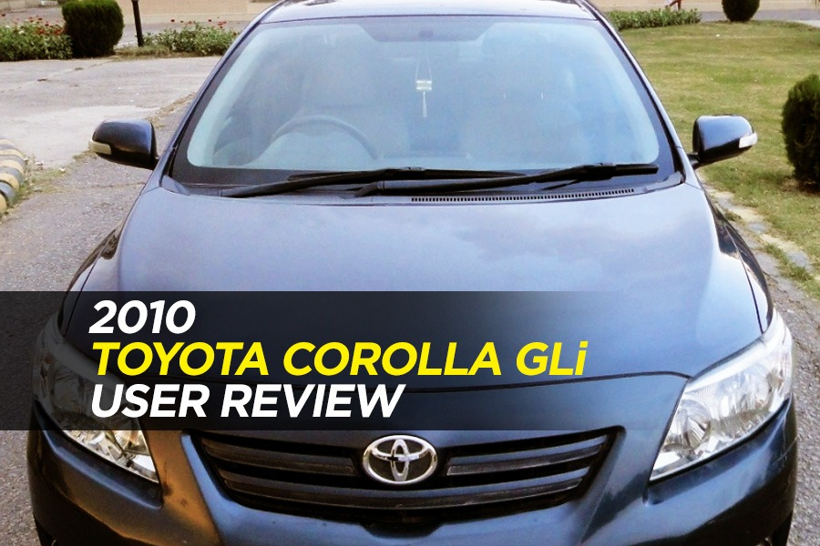 User Review: 2010 Toyota Corolla GLi of Khurram Memon 2