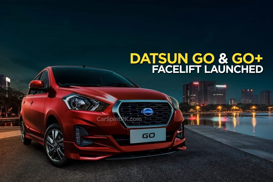 2018 Datsun GO and Datsun GO+ Facelift Launched in Indonesia 2