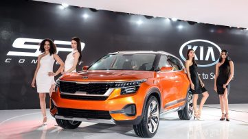 Kia to Begin Operations in India with SP-Concept Based SUV 4