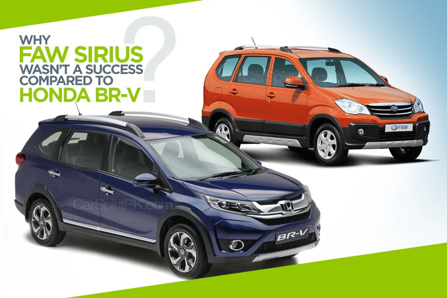 Why FAW Sirius wasn't as Successful as Honda BR-V? 1