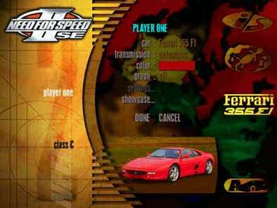 Remembering Need For Speed II-SE and It's Cars 21