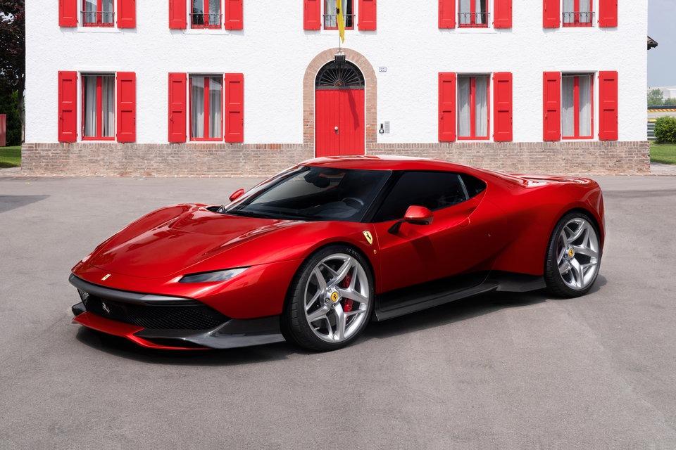 Ferrari Unveils the Latest One-off SP38 8