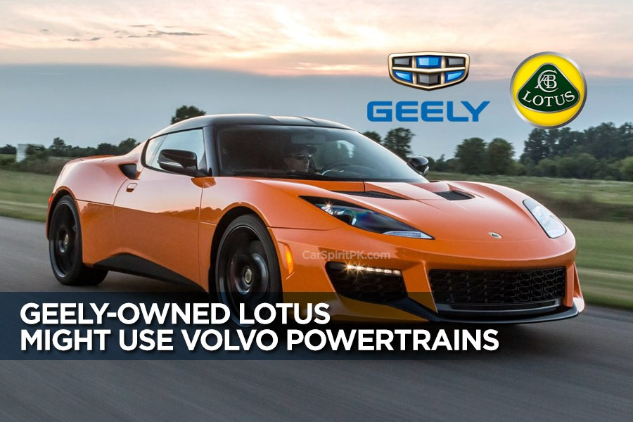 Geely-owned Lotus Might Use Volvo Powertrains 13