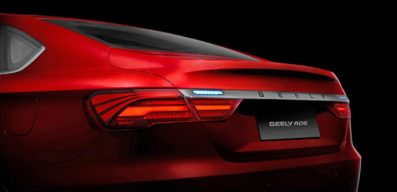 Geely to Launch its First Sports Sedan in Q3 2018 4