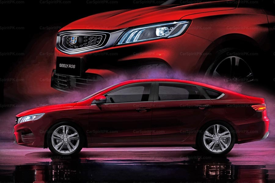 Geely to Launch its First Sports Sedan in Q3 2018 1