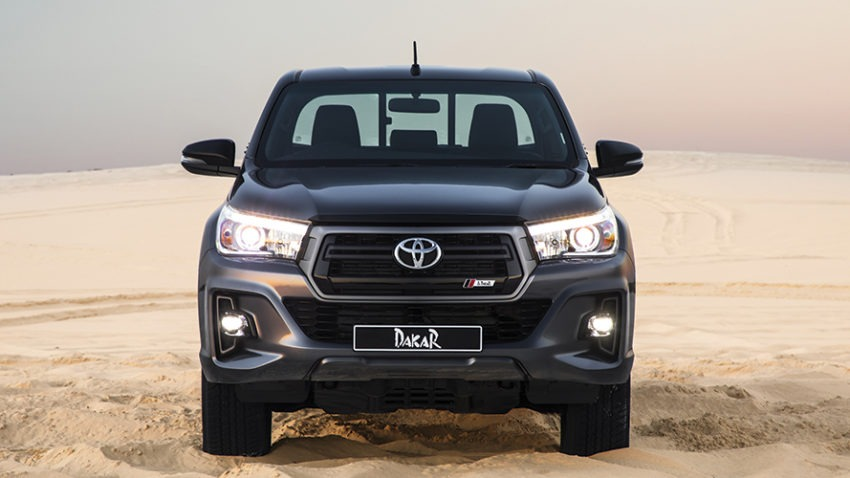 Toyota Introduces the Limited Edition Hilux Dakar in South Africa 8