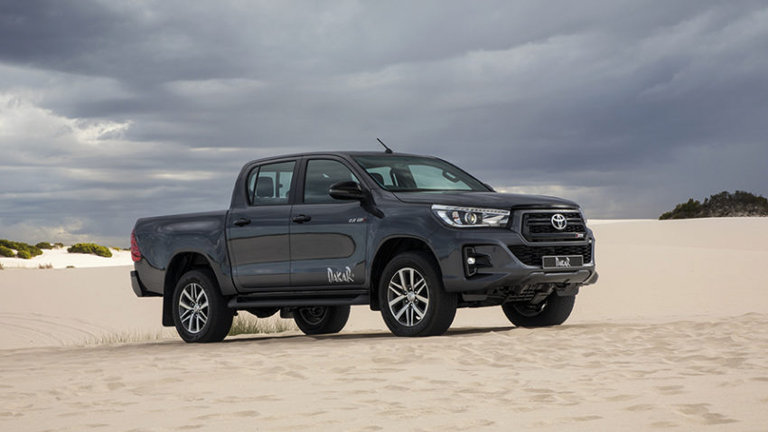 Toyota Introduces the Limited Edition Hilux Dakar in South Africa 10