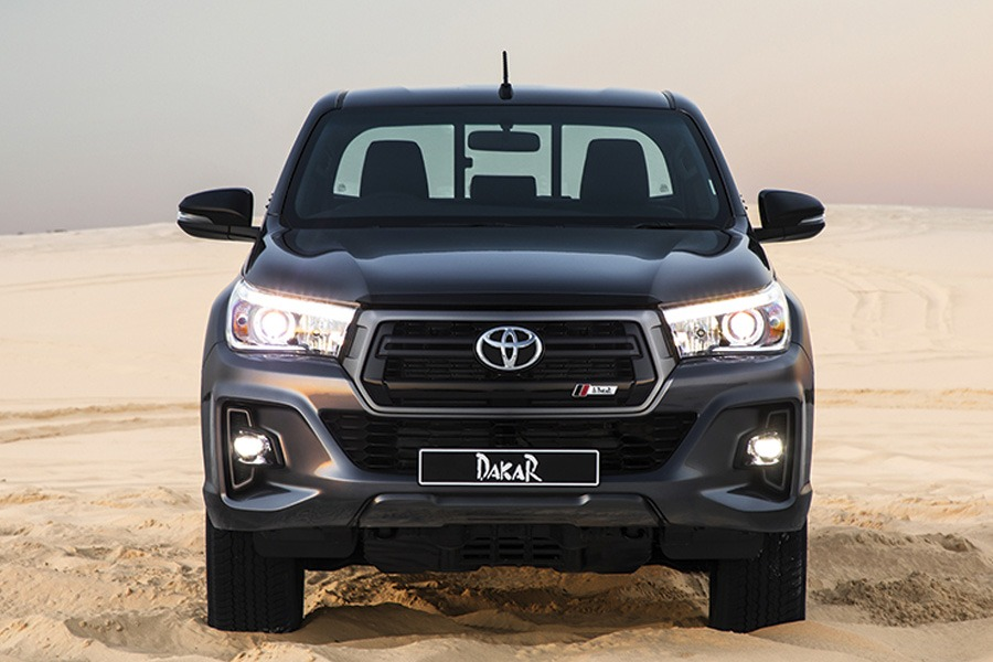 Toyota Introduces the Limited Edition Hilux Dakar in South Africa 1