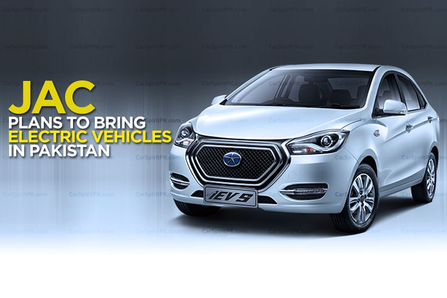 JAC Plans to Bring Electric Vehicles in Pakistan 1