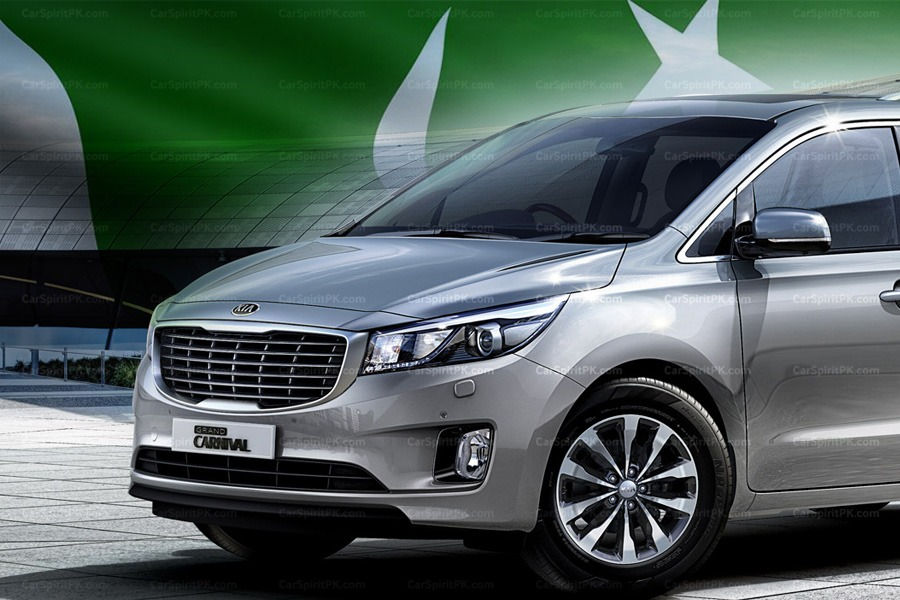 Kia Grand Carnival Launched in Pakistan 1