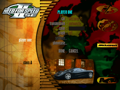 Remembering Need For Speed II-SE and It's Cars 11
