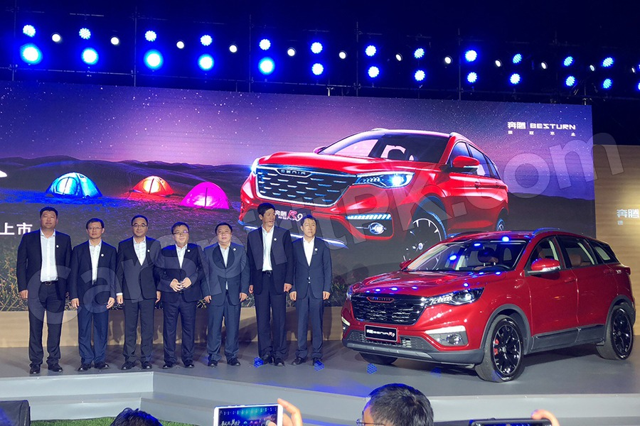 FAW Senia R9 SUV Launched in China 5