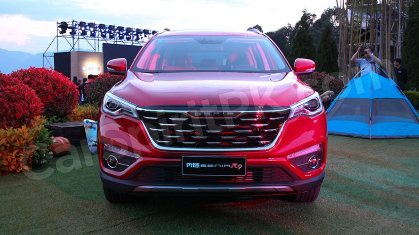 FAW Senia R9 SUV Launched in China 9